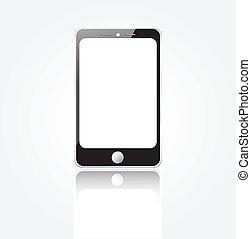 telefono mobile, vettore