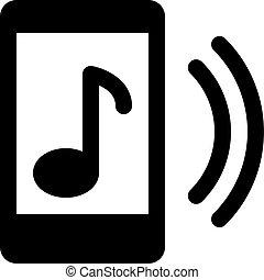telefono, musica