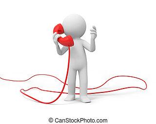 telefoon, contact