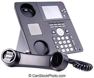 telefoon, ip, set