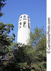 Telegraph Hill in San Francisco, Usa