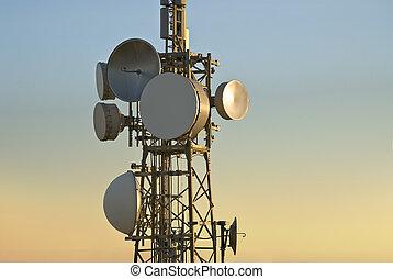 telekomunikace ohromný