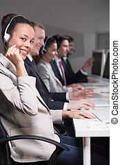 telemarketers, travail