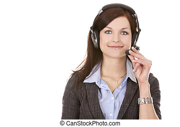 telemarketing person