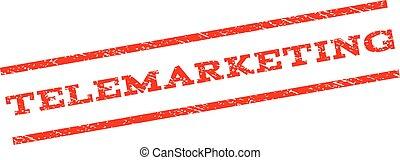 Telemarketing Watermark Stamp
