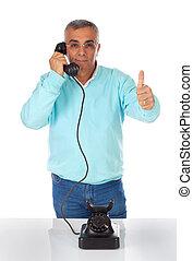 telephone., λόγια , χρόνος , bakelite , άντραs