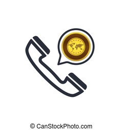 Banking and financial support icon