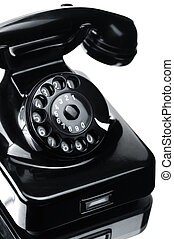 Telephone - Black bakelite telephone
