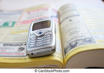 telephone book cell phone