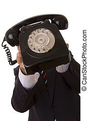 Telephone call for you!