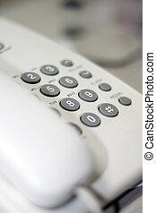 telephone close-up