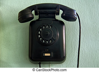 telephone device from the sixities