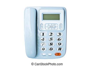 Telephone isolated on white background