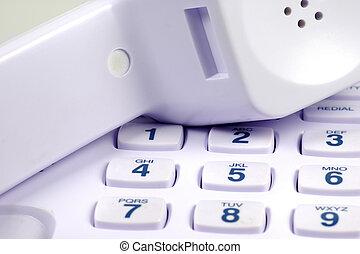 Telephone Keypad and Headset