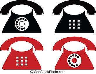 Telephone made in Illustartor