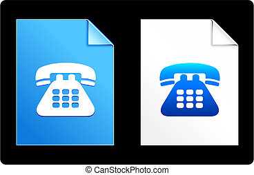 Telephone on Paper Set