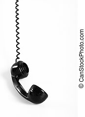Telephone Receiver - Old fashioned telephone receiver...