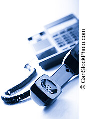 Telephone receiver - Stationary telephone receiver in...