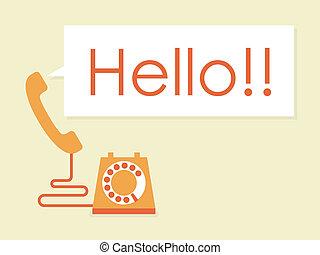 Telephone - simply vintage telephone