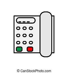 telephone vector design template illustration