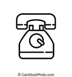 telephone vector illustration design