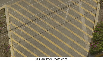 "Telephone Wires and ""Do Not Park"" Painted Lines - Steady,..."