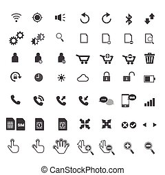 telephone&web icon