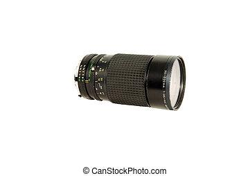 Telephoto lens.