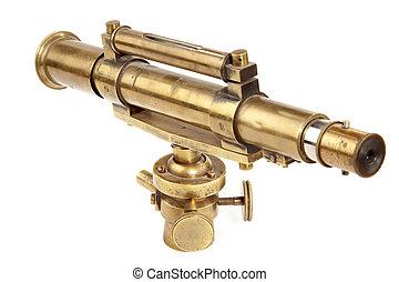telescópio antigo