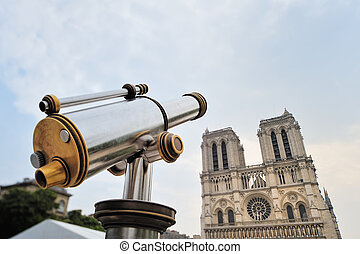 Telescope and Cathedral