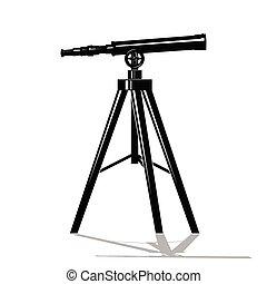 Telescope as an icon