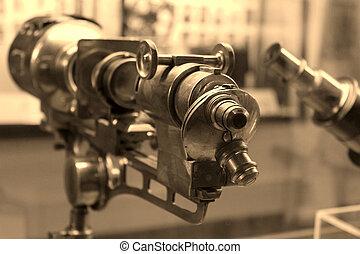 telescopio, vendimia