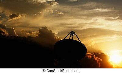 """teleskop, """"radio, komunikacja, facility."""""""