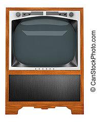 televízió díszlet, öreg