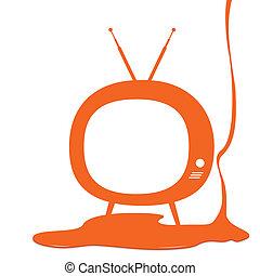 televisão, desenho