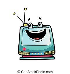 televisão, personagem