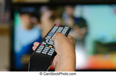 televisão remote