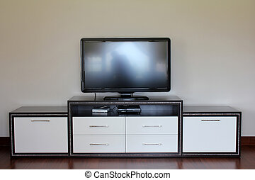 televisión, lcd