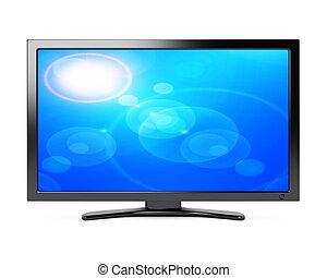 televisión, pantalla ancha
