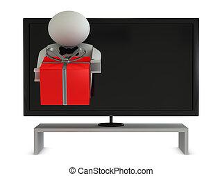 televisión, victoria, concurso