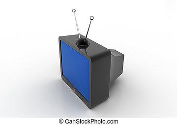televisie, mode, oud