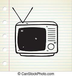 televisie, retro