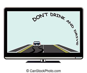 Television advertisement do not drink drive