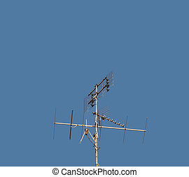 television. aerial, antenne