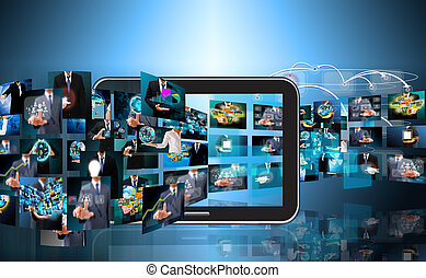 Television and internet production .technology and business...