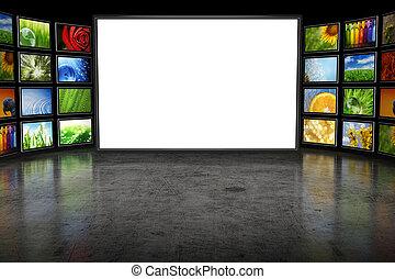 television, billederne, screeen