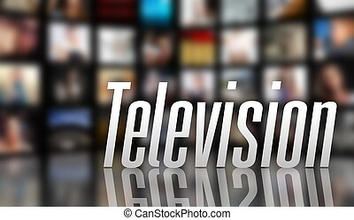 Television concept LCD TV panels