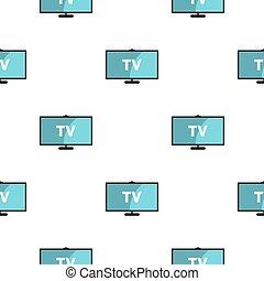 Television pattern seamless