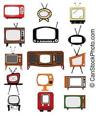 television,  retro, Kollektion
