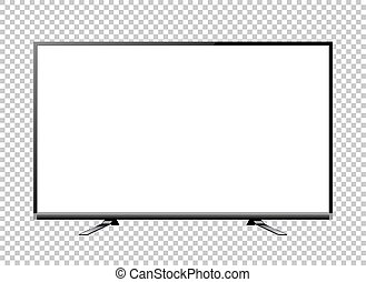 television screen blank vector